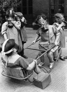 Máscaras antigás niños